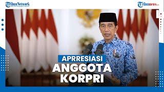 Presiden Jokowi Apresiasi Semangat Pengabdian Anggota Korpri di Tengah Pandemi Covid-19
