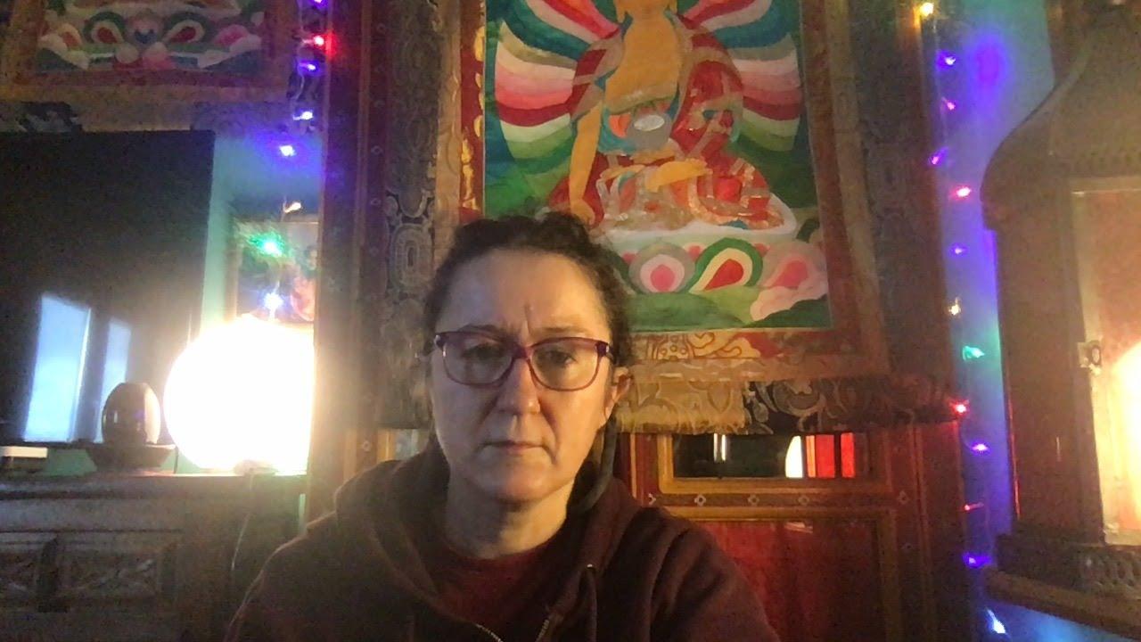 Lama Gangchen Tantric Self-Healing 2- Commentary by Lama Caroline - part 48 (EN)