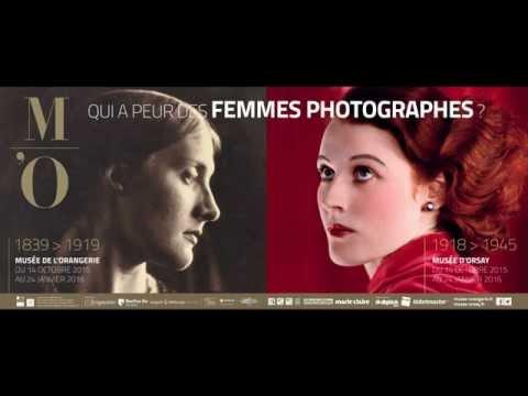 """Teaser Musée d'Orsay pour l'expo 2015 """" qui a peur des femmes photographes  """""""