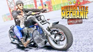 First Look at Motorcycle Mechanic Simulator 2021!