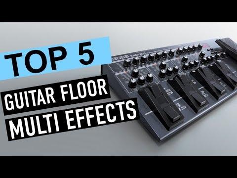 BEST 5: Guitar Floor Multi Effects