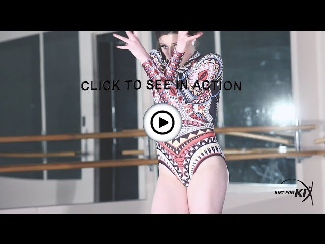 Youth Freedom Long Sleeve Leotard : AC5335C