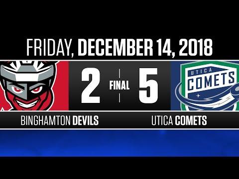 Devils vs. Comets | Dec. 14, 2018
