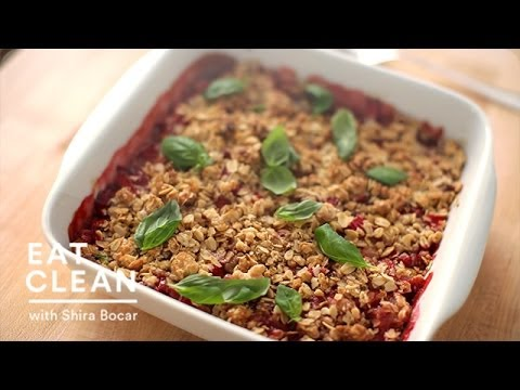 Strawberry-Rhubarb Fruit Tart – Eat Clean with Shira Bocar