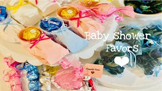 DIY Baby Shower Favors - Boy And Girl Shower Favors - Dollar Tree