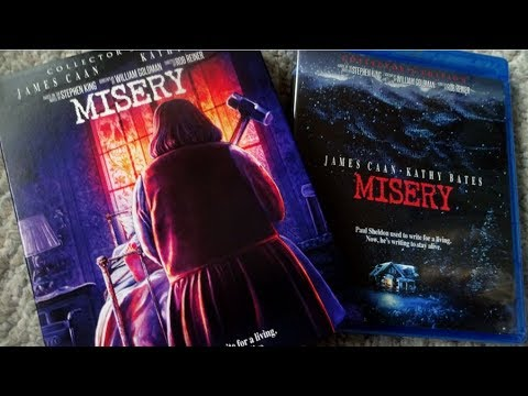 MISERY (1990) Scream Factory COLLECTOR'S EDITION Blu Ray Unboxing