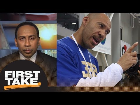 Stephen A. Smith asks how LaVar Ball looks in wake of NCAA allegations | First Take  | ESPN