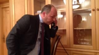 Владимир Жириновский звонит Андрею Парубию