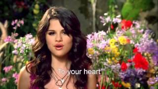 [HD] Selena Gomez   Fly To Your Heart MV [Lyrics On Screen]