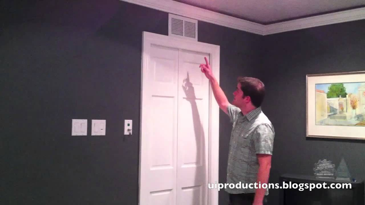 Every Homeowner Should Install A Pneumatic Sliding Door Like This
