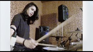 a drum cover. (throwback) Video thumbnail