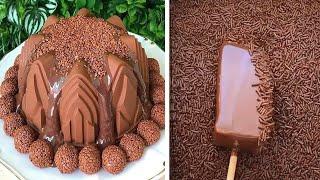 Fancy Chocolate Cake Tutorials | So Yummy Cake Decorating Ideas | Top Yummy Chocolate Cake #3
