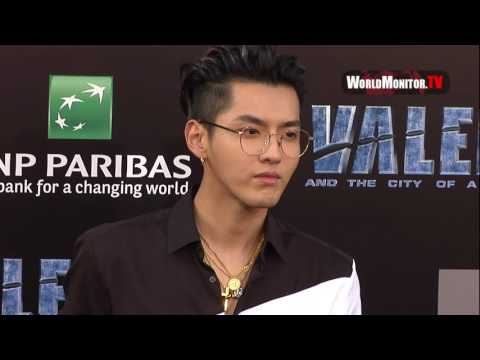Kris Wu 'Valerian and The City Of A Thousand Planets' LA Film premiere