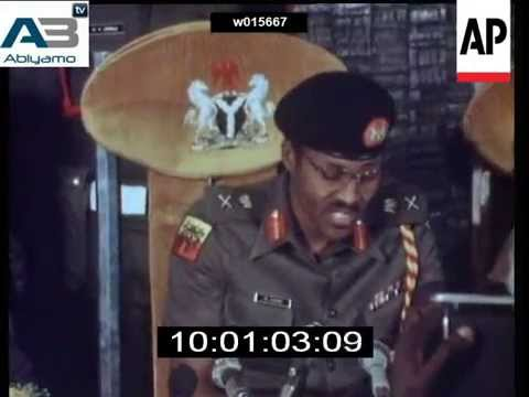 General Muhammadu Buhari Takes Over In 1983, Leads Fight Against Corruption