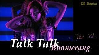 SNSD 少女時代 Talk Talk(Boomerang) Live/V 日本語字幕