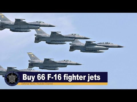 Breaking: Taiwan to buy up to 66 F-16 fighter jets from US