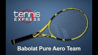Ρακέτα τέννις Babolat Pure Aero Team 2019 - Demo video