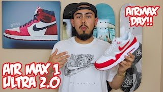 "AirMax 1 Ultra 2.0 LE ""AirMaxDay"" Review + On Foot!"