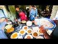 Best Street Food at Pakistan University CRISIS OMELET in Islamabad Pakistani Food Tour