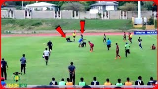 Boys STRUCK by LIGHTNING during Manning Cup match (JC vs Wolmer's)