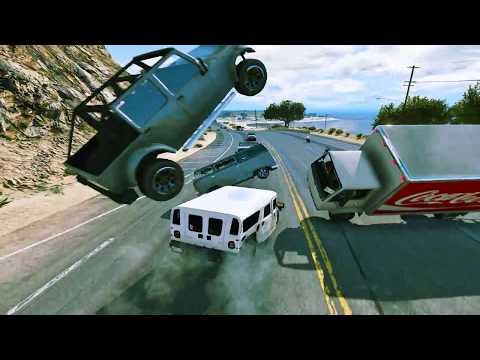 GTA 5 100 Tons Super Hummer H1 Rampage HD Grand Theft Auto V