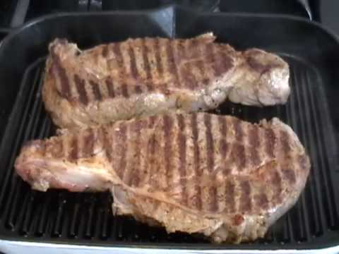 Rib Eye Steaks – Grilled Steak Recipe – Steak Tips