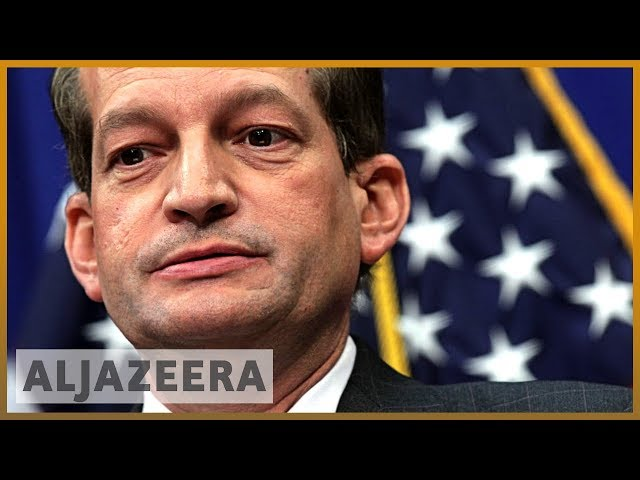 US Labor Secretary defends past actions in Epstein's plea deal