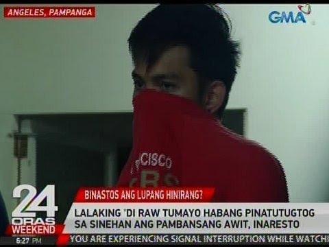 Image result for 24 Oras: Lalaking 'di raw tumayo habang pinatutugtog sa sinehan ang Pambansang Awit, inaresto