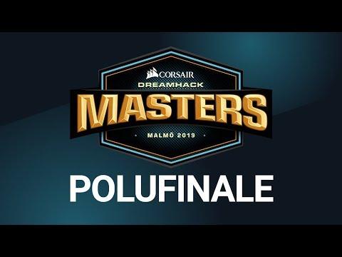 DreamHack Malmö - Astralis vs Fnatic | Vitality vs NaVi POLUFINALE w/ Rema i Mićko