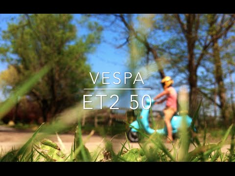 Vespa ET2 50 Full Review