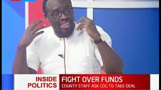 Inside Politics: Division of revenue standoff continues