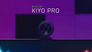 Razer Kiyo Pro | Advanced imaging. Absolute fidelity.
