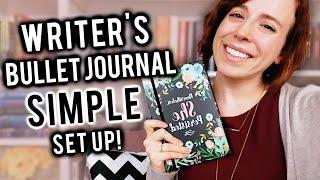 SIMPLE Writers Bullet Journal | 2019 Set Up