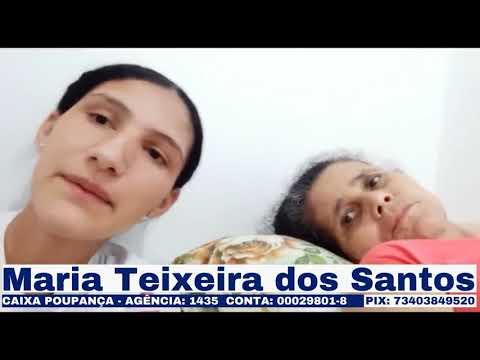 Solidariedade: Vamos ser solidário a Maria de Tonhão.