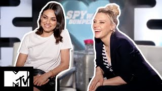 Mila Kunis & Kate McKinnon Reveal FUNNIEST MOMENTS & BLOOPERS | The Spy Who Dumped Me | MTV Movies