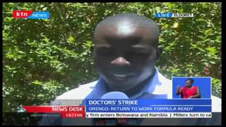 Interview with Senators Hon Mutula Kilonzo and Amos Wako on doctors' strike