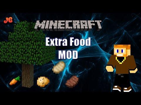 Minecraft Mod Showcase | Extra Food Mod