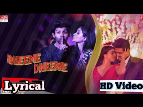 Dheeme Dheeme lyrical song|| Pati Patni Aur Woh||Tony Kakkar, Neha kakkar