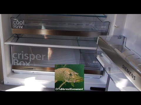 Review 70 cm Kühl-Gefrierkombi Siemens KG49EBI40