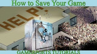 Project Zomboid How to Save Your Game - character