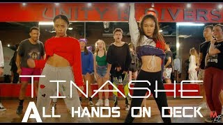 TINASHE - ALL HANDS ON DECK LIVE - CHOREOGRAPHY BY - BROOKLYN JAI