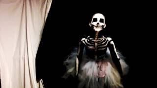 Tim Burton Ballerina Skeleton