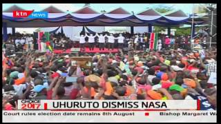'They are dividing the government like a loaf of bread' says President Uhuru
