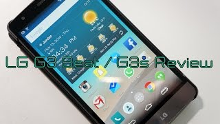 preview picture of video 'LG G3 Beat / G3s Review'