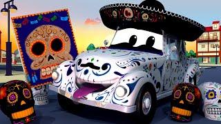 Policejní auta pro děti - Strašidelné auto