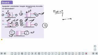 Eğitim Vadisi 9.Sınıf Fizik 11.Föy Newton'un Hareket Yasaları Konu Anlatım Videoları