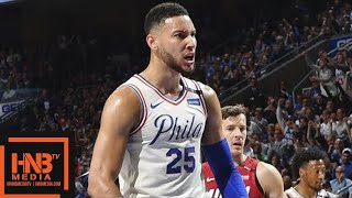 Miami Heat vs Philadelphia Sixers Full Game Highlights / Game 5 Sixers move on to round 2