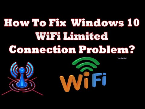Video Windows 10 WiFi Limited Connection Problem  3 Fix