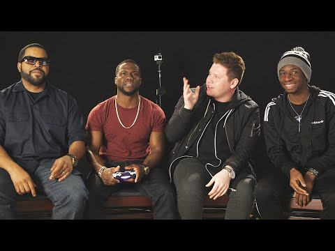 PLAYING GTA 5 WITH KEVIN HART & ICE CUBE! (видео)