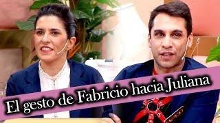 Corte y confección - Programa 31/05/19 - El gesto de Fabricio hacia Juliana